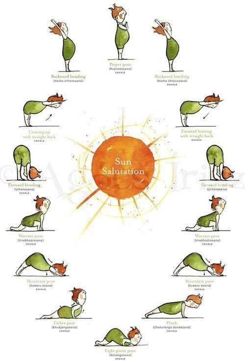 Meditation clipart good health And Pinterest cartoon Yoga Hacks