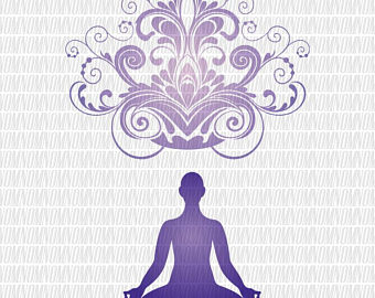 Meditation clipart hindu saint Yoga Art SVG Etsy Yoga