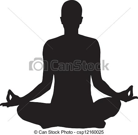 Meditation clipart icon Search Vector logo  logo