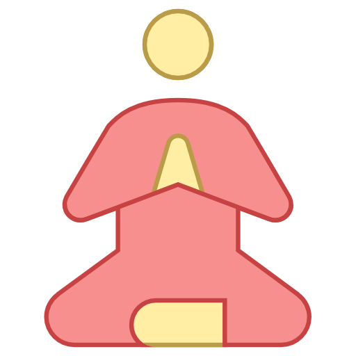 Meditation clipart icon Is to Free This that