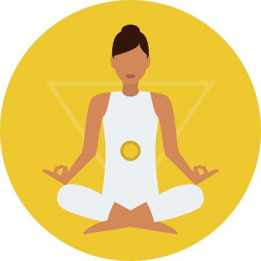 Meditation clipart icon PNG Icon Poses