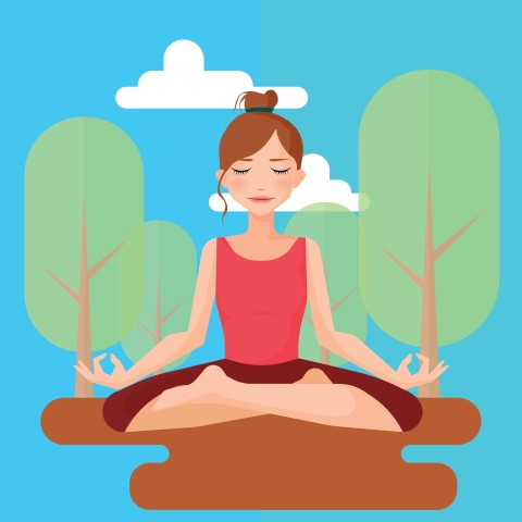 Meditation clipart mindfulness To Health And Mindfulness Loose