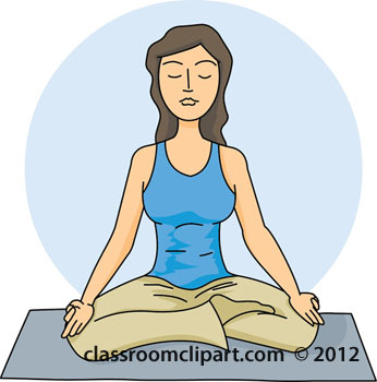 Meditation clipart physical exercise Free clip Cliparting Exercise clipart