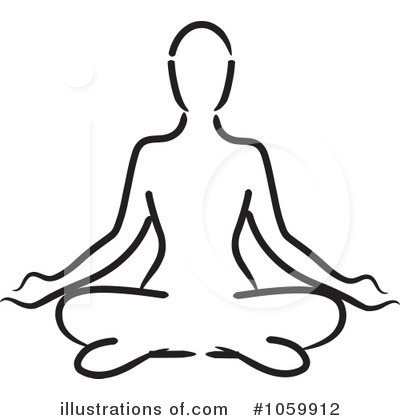 Zen clipart yoga poses By Illustration (RF) Yoga Clipart