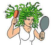 Medusa clipart GoGraph · Art Medusa Gorgon