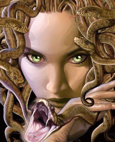 Medusa clipart greek mythology #13