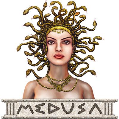 Medusa clipart greek mythology #7