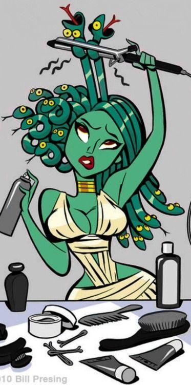 Medusa clipart greek mythology #8