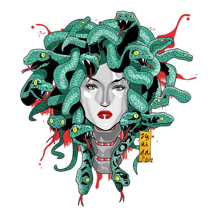 Medusa clipart greek mythology #9