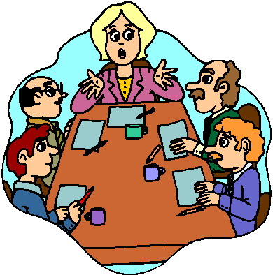 Meeting clipart Art clip art Clip Meeting