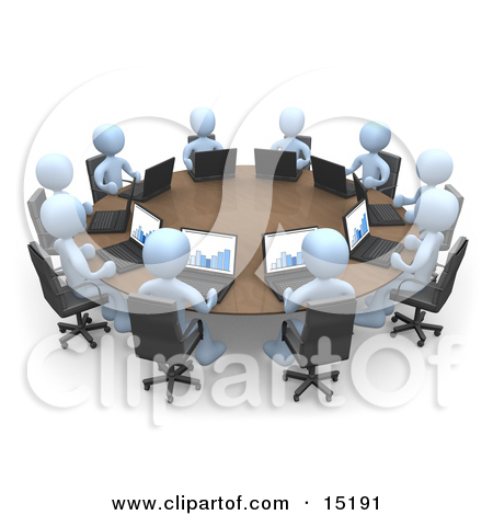 Meeting clipart animated #6