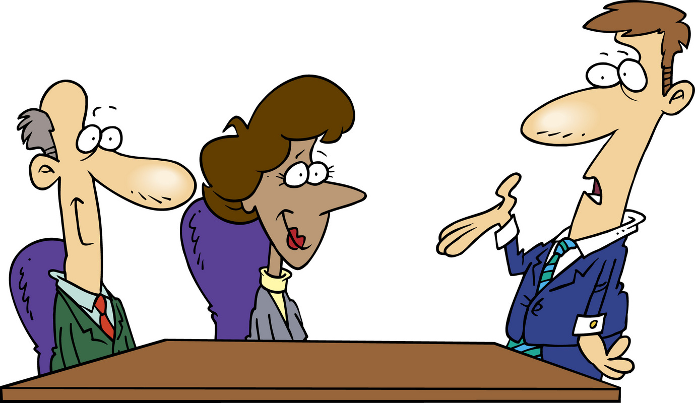 Meeting clipart animated #14