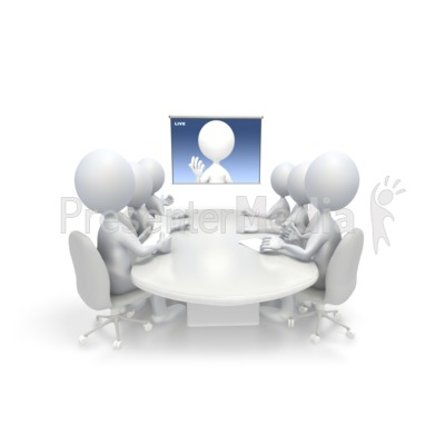 Meeting clipart animated #9