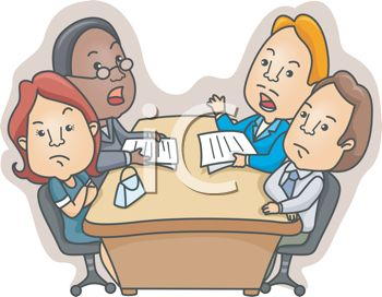 Meeting clipart animated #1