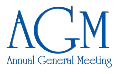 Meeting clipart annual general meeting 6:30pm Annual 14 Wed @