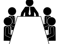 Meeting clipart black and white Keywords meeting Similiar White Black