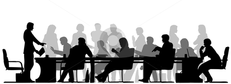Meeting clipart black and white Images clip clipartcow free clipart