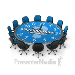 Meeting clipart boardroom meeting Custom Round Meeting from 17952
