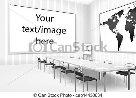 Meeting clipart boardroom meeting Meeting illustration of of