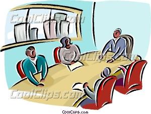 Meeting clipart boardroom meeting Meeting Clip Boardroom  Art