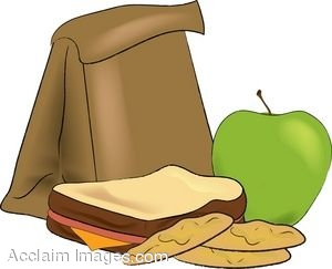 Meeting clipart brown bag lunch #6