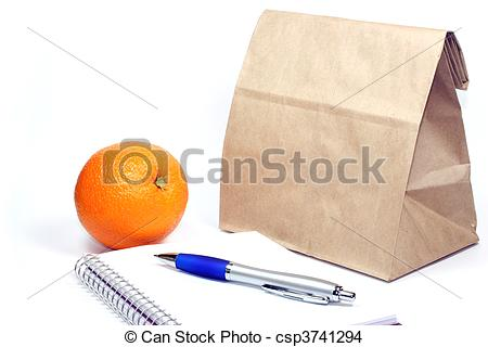 Meeting clipart brown bag lunch #3