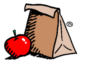 Meeting clipart brown bag lunch #7