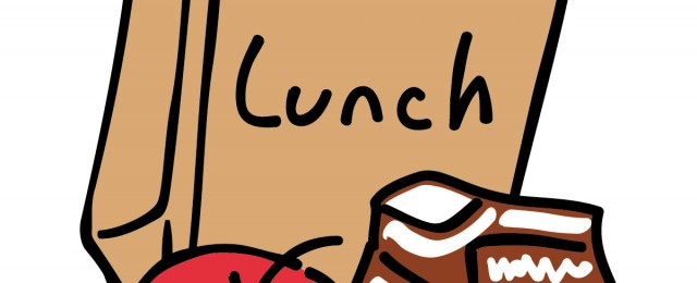 Meeting clipart brown bag lunch #8