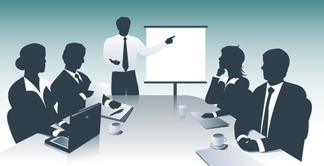 Meeting clipart business meeting 2 art 2 Clipartix clip