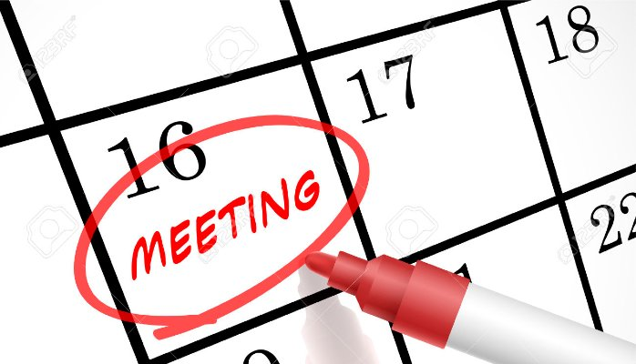 Meeting clipart calendar #14