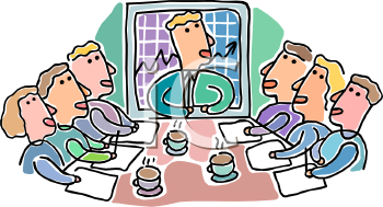 Meeting clipart cartoon Art on Clipart Clipart Cartoon