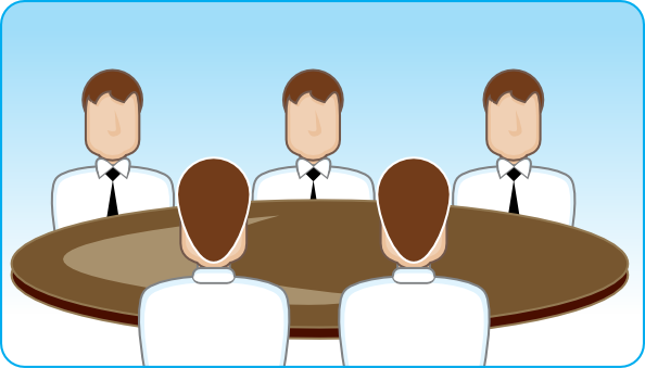 Moving clipart meeting Download Clker  Business Meeting
