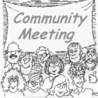 Meeting clipart community Clipartpig Neighborhood Clipart A Images