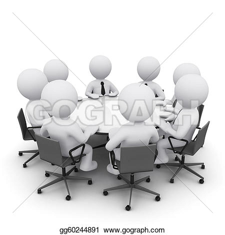 Meeting clipart company meeting #4