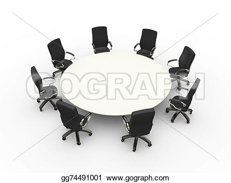 Meeting clipart conference Room chairs meeting meeting Illustration