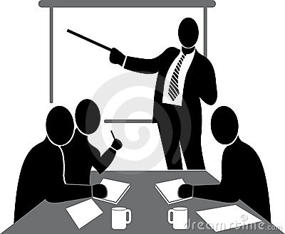 Business clipart black and white #3