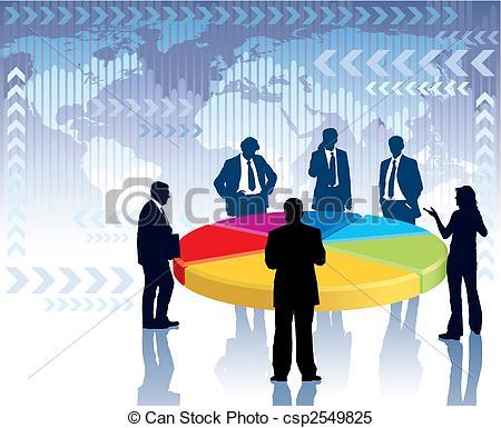 Meeting clipart corporate meeting Of meeting standing next meeting
