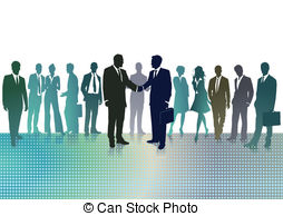Panels clipart company meeting EPS 268 meeting