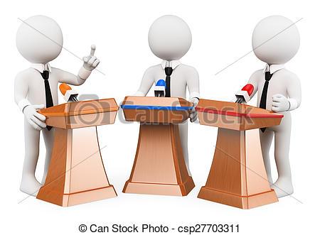 Suit clipart debate team White csp27703311  debate Clipart
