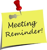 Notice clipart agenda BSEAC Advisory Minutes Meetings Agendas