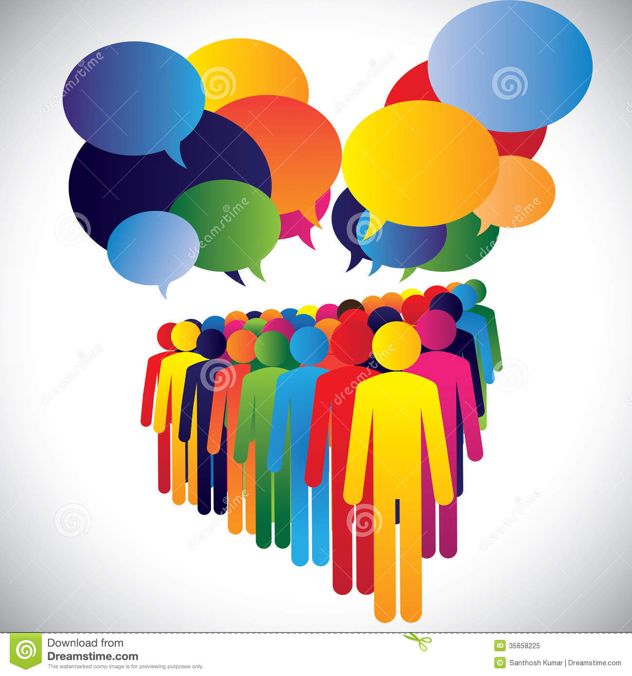 Meeting clipart employee meeting Employees 1300x1390 employees Concept of