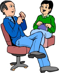 Meeting clipart face to face communication Among COMMUNICATION between to at