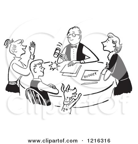 Staff clipart family meeting Meeting Clipart Meeting Cartoon Clipart