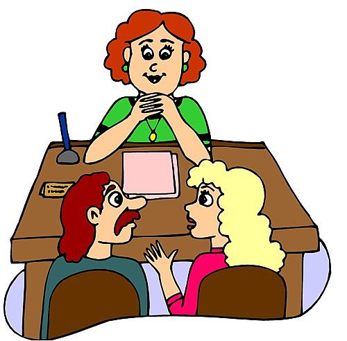 Office clipart female school principal Clipartix Meeting Teacher clipart Free