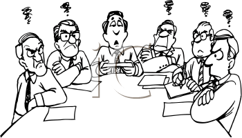 Meeting clipart funny #7