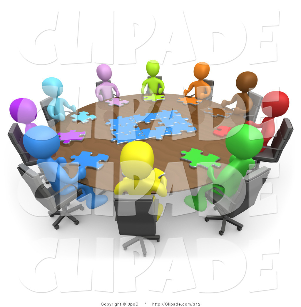 Meeting clipart group Panda Meeting Images Clipart Clipart