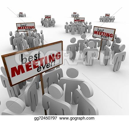Meeting clipart group discussion Signs Team Meeting Discussion People
