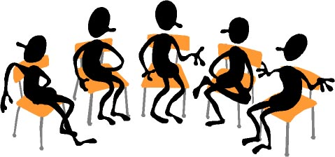 Meeting clipart group discussion Page) type the of meeting