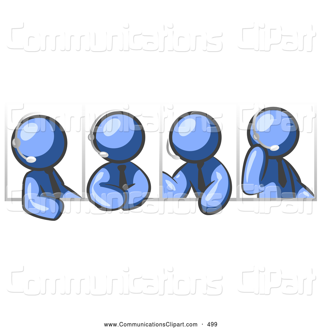 Meeting clipart group discussion Discussion Four Clipart Different Group