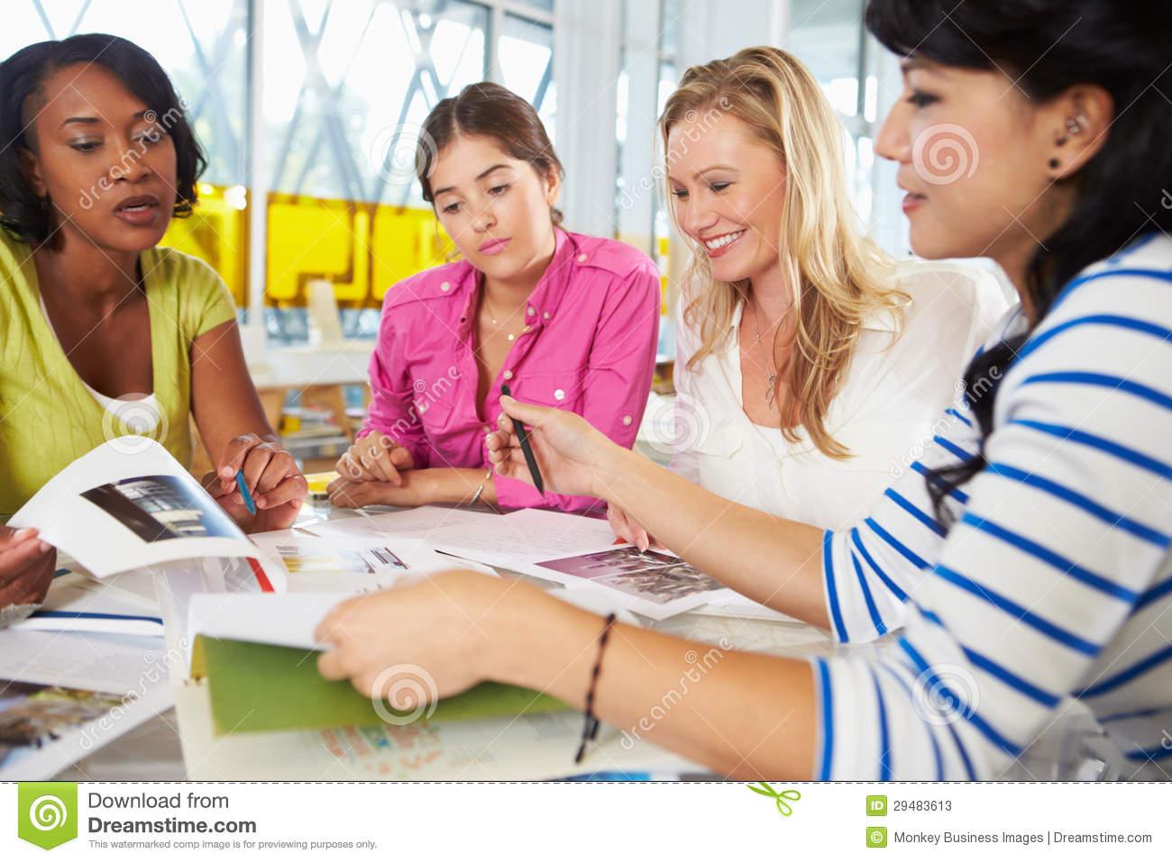 Meeting clipart group woman Success clipart women of women
